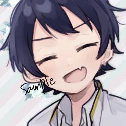 7月限定1000円で受付ます SNSで使えるオリジナルアイコンをお描きします!