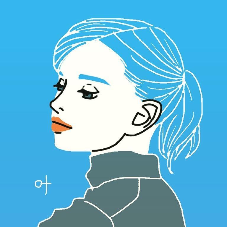 個性的!オシャレでアートなカラー似顔絵描きます 自分らしさを表現した、いつもと違うプロフ画像をお探しの方へ
