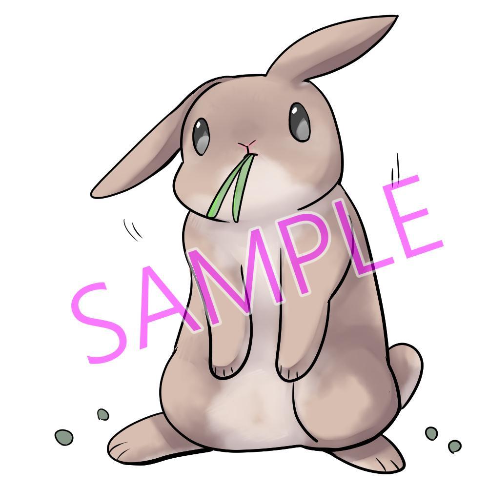 動物の一枚絵やヘッダーを描きます お写真からデフォルメ絵をお描きします!