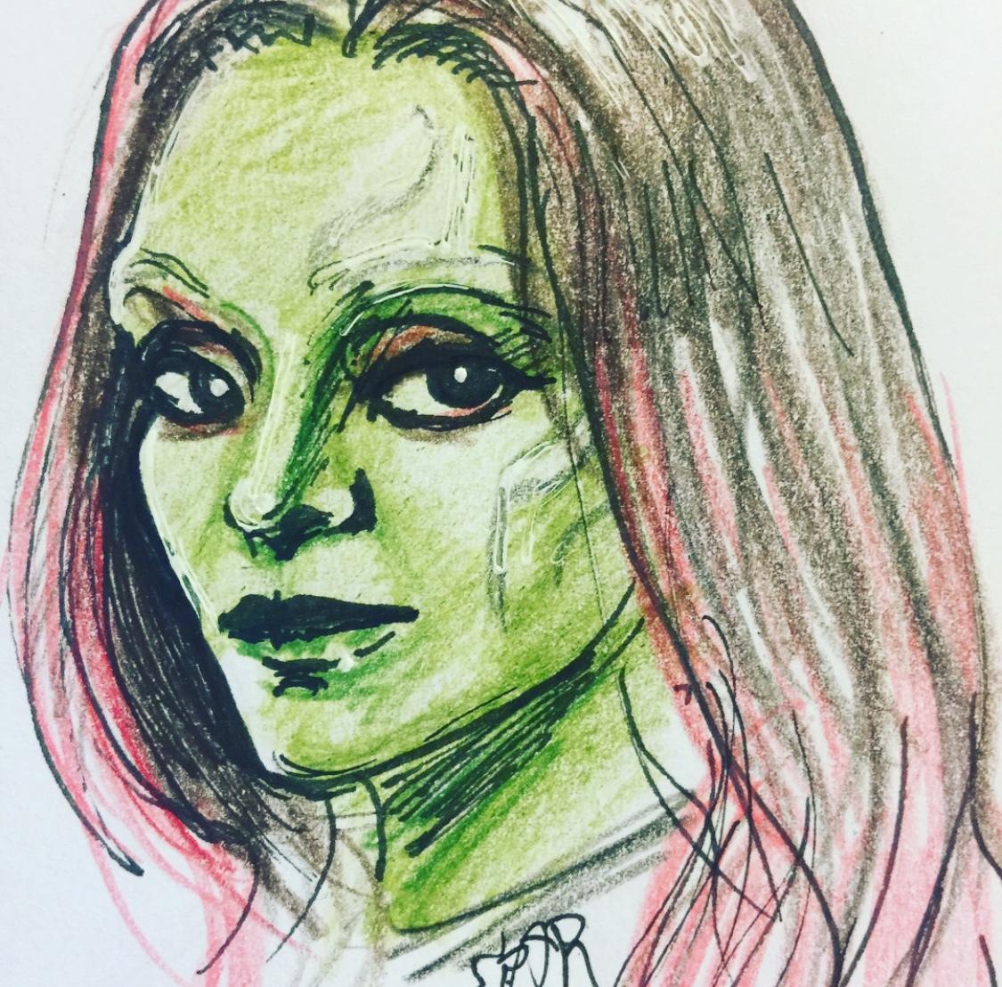 あたたかみのある手描きの似顔絵を提供します 色鉛筆での暖かみのある似顔絵♪大切な人や自分へのご褒美に