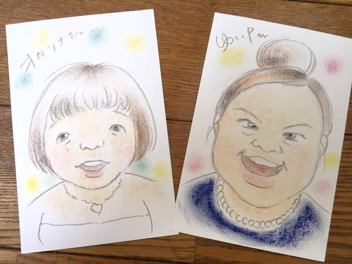 手描き似顔絵 イメージ1