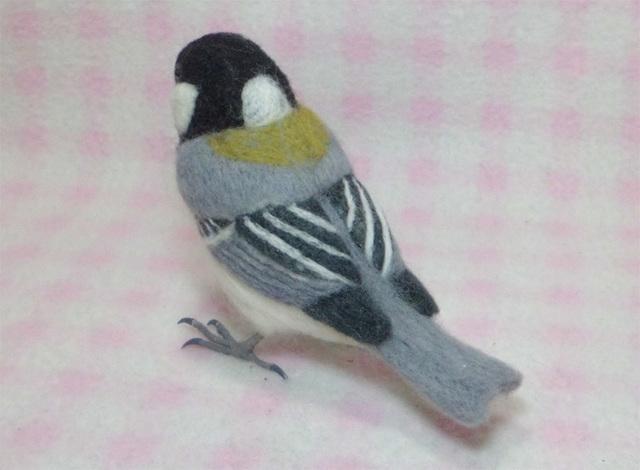 貴方のお気に入りの野鳥の羊毛フィギュアを制作します 普段ショップではあまり見かけない「羊毛の野鳥」を制作します