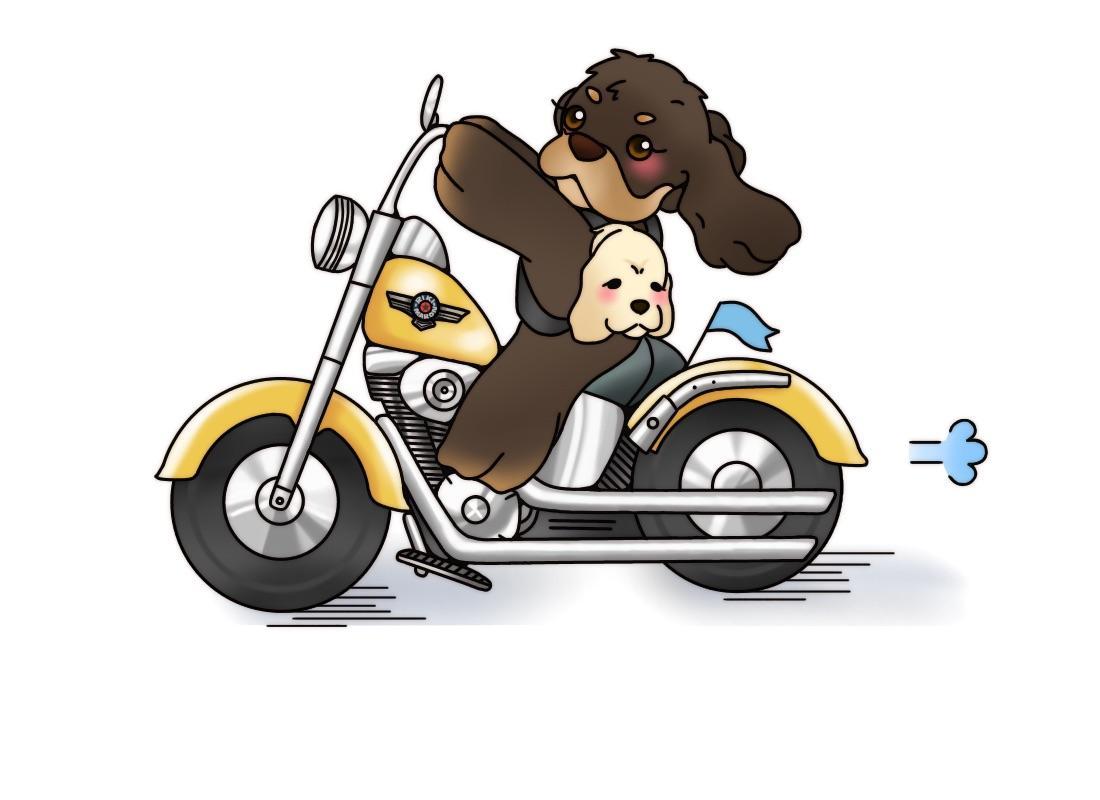 ペット(わんちゃん)のデジタルイラスト描きます 愛犬家の皆様にオススメです♡♡