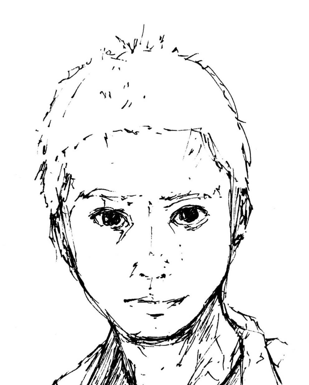 個性的でオシャレな似顔絵を描きます 修正回数は無制限!プレゼンや名刺や年賀状、企業ロゴに
