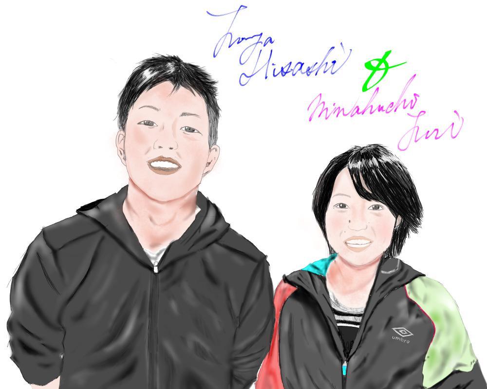 (10名様限定の特別価格)【手描き】あなたの似顔絵をお写真から描かせていただきます