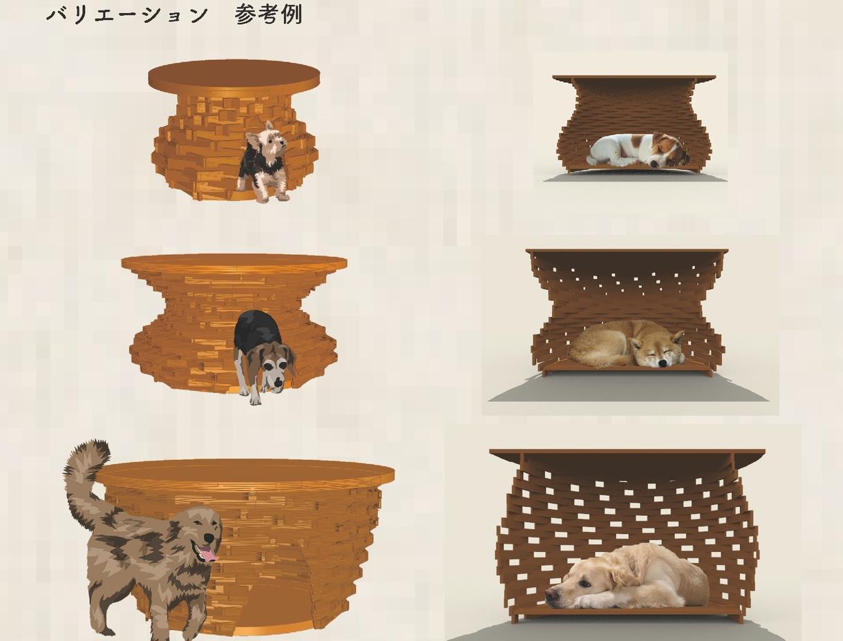 犬小屋をオーダーメイドで作成します 7月10日(水)までにご連絡ください