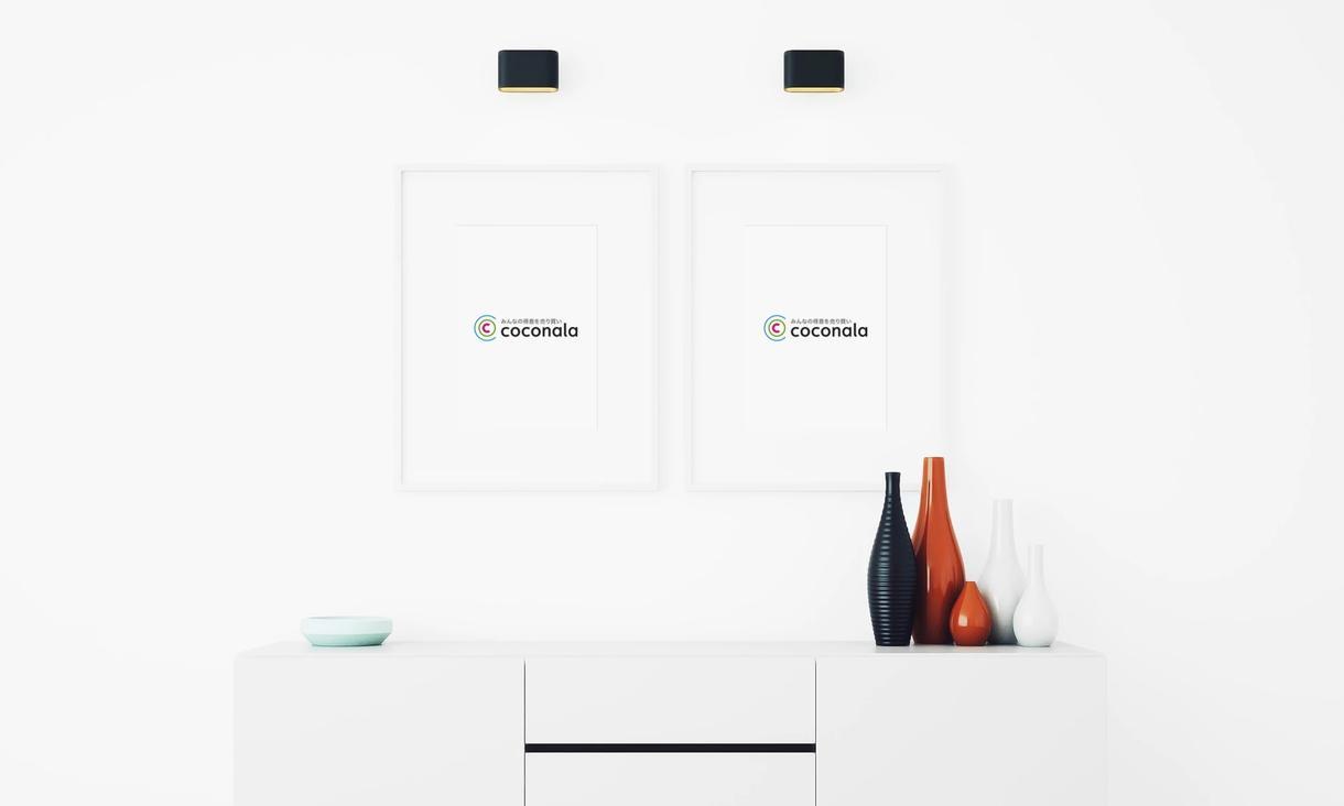 画像やイラストの印刷イメージ画像を作ります ココナラのサービス画像を魅力的にしたい方に LP用等にも