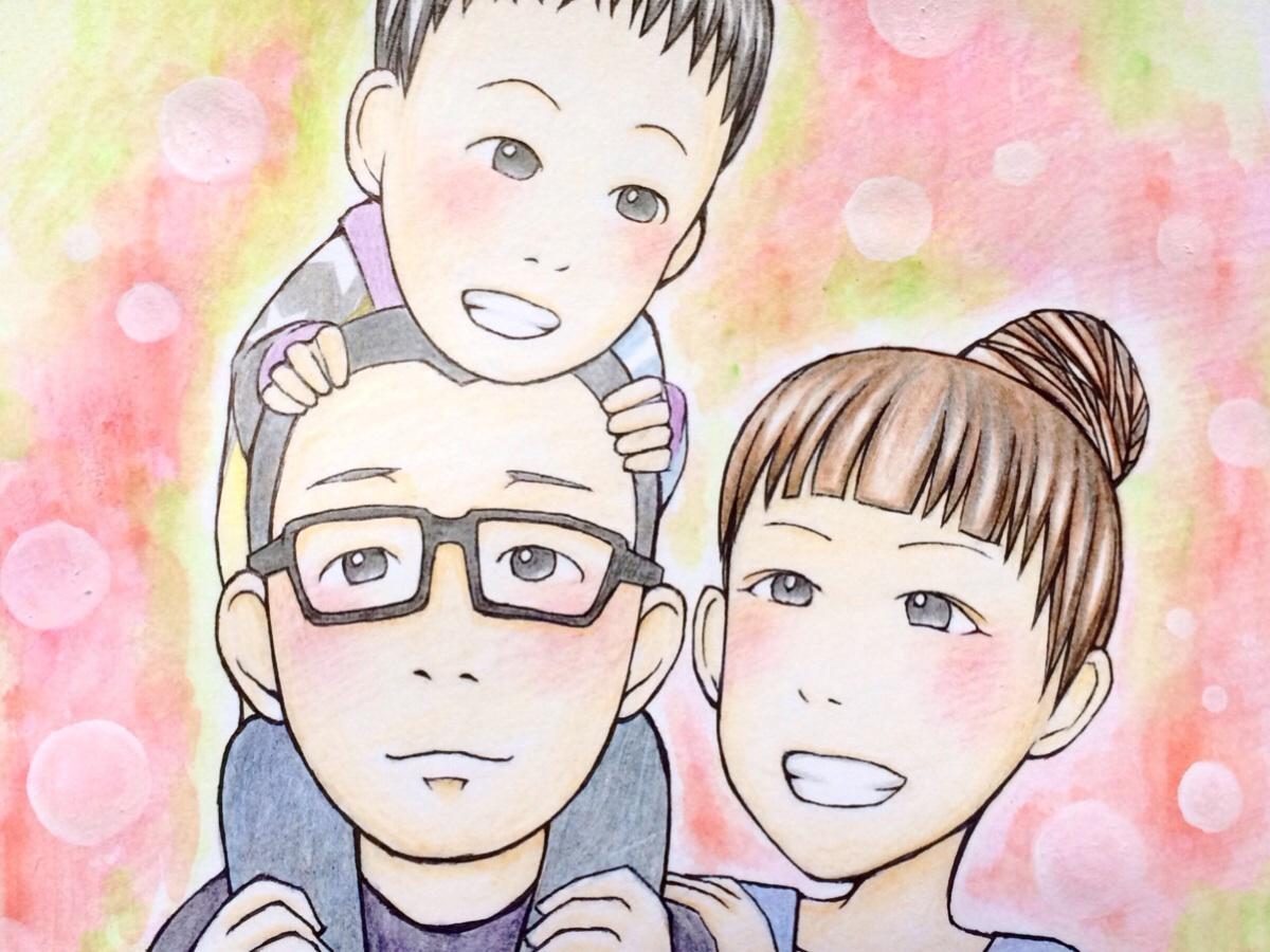 【記念に】あなたや、あなたの大切な人達の似顔絵を描きます!【贈り物に】