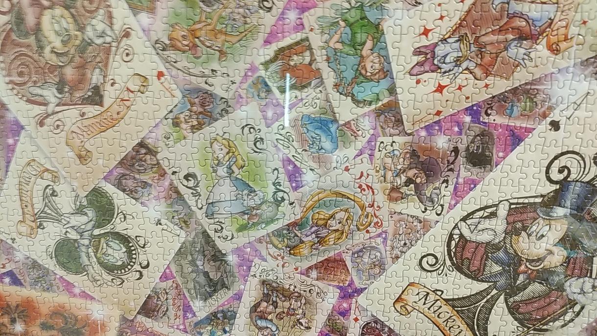 ジグソーパズル代わりに作ります お気に入りのジグソーパズル飾りたいけど時間がない、そんな方へ