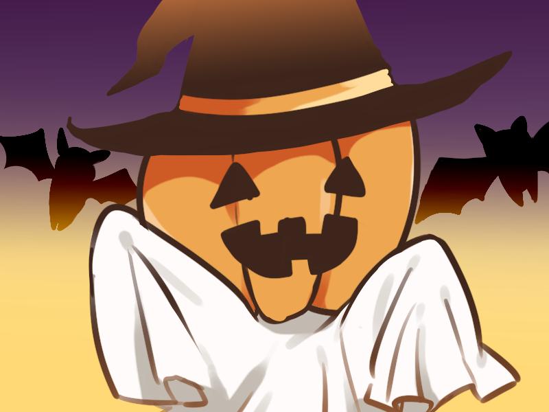【10月から再開予定】ハロウィンイラスト描きます!【かわいくかっこよくデフォルメ】