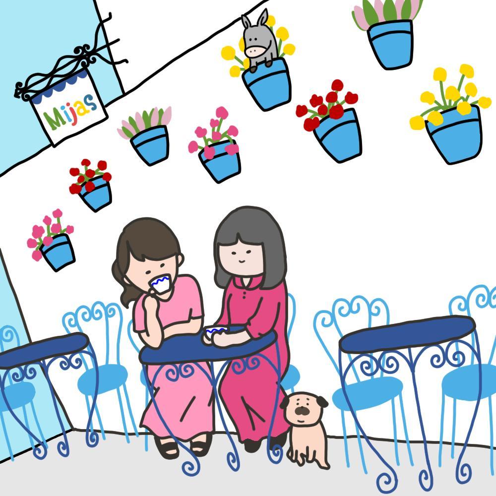 ペットと飼い主さんのゆるかわなイラストを描きます イラストの中でなら大好きなペットとずっと一緒♪ イメージ1