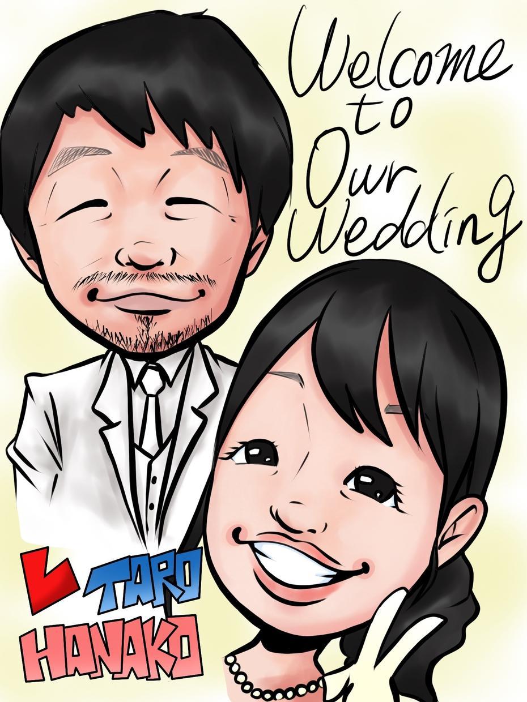 プロがレトロな結婚式ウェディングムービー作製します 手書きウェルカムボードセットにできます!!