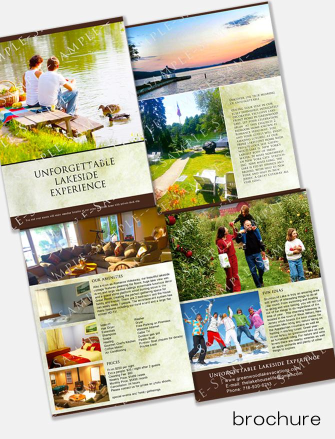 NYのプロデザイナーがパンフレット制作します ビジネスをグローバルな視点からサポート、英語・日本語対応 イメージ1