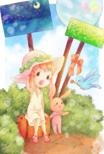 かわいい絵本のようなイラストお描きします ふんわり可愛いイラストをお求めの方に イメージ1