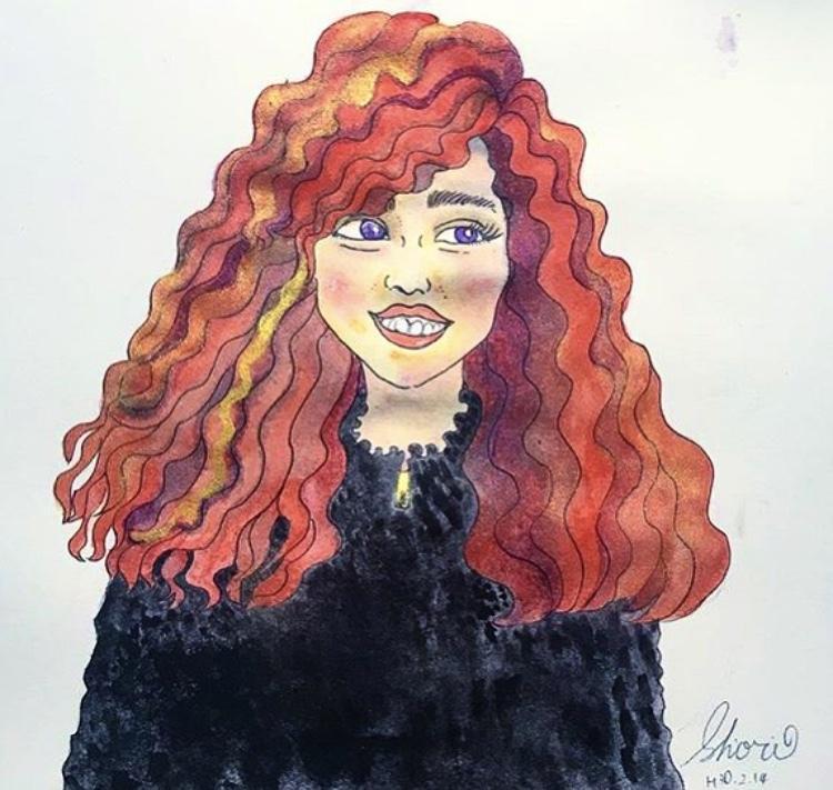 水彩画の手描き似顔絵イラスト描きます 海外風オリジナル似顔絵描きます イメージ1