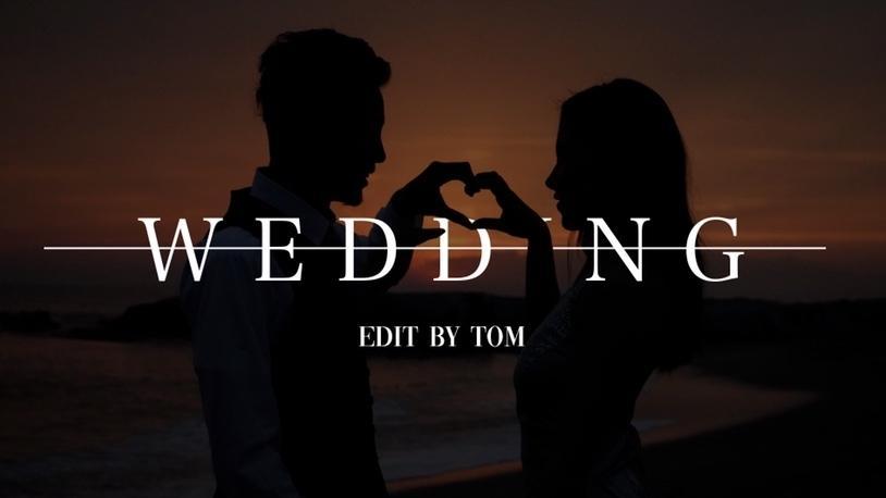 Wedding movie 制作致します OP/ED/AM 全コンテンツ対応 格安且つ高品質