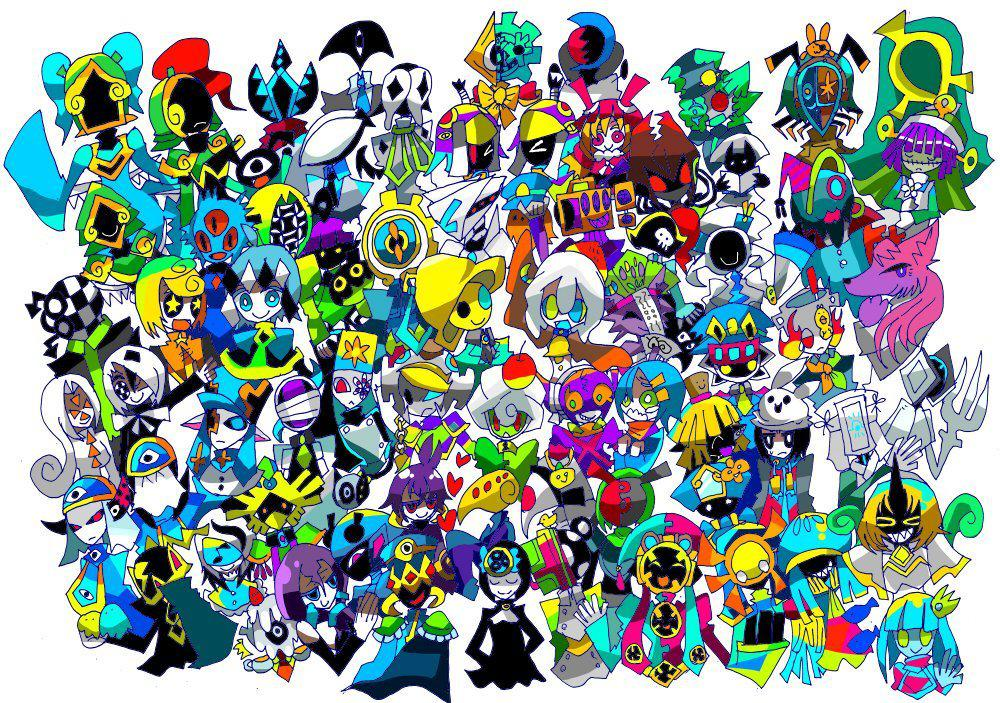 他にはないデザインとカラーのキャラクターを描きます 人外、モンスター、その他人間以外のキャラクターを描きます