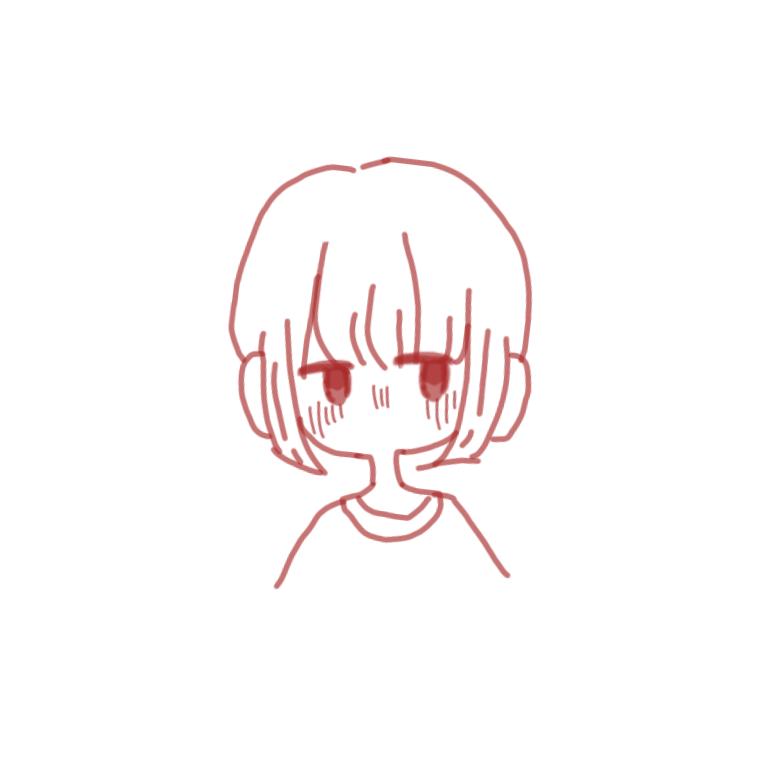 SNSのアイコンなどにゆるく描きます ゆるい絵柄で可愛いイラストを千円で1、2枚書かせて頂きます。