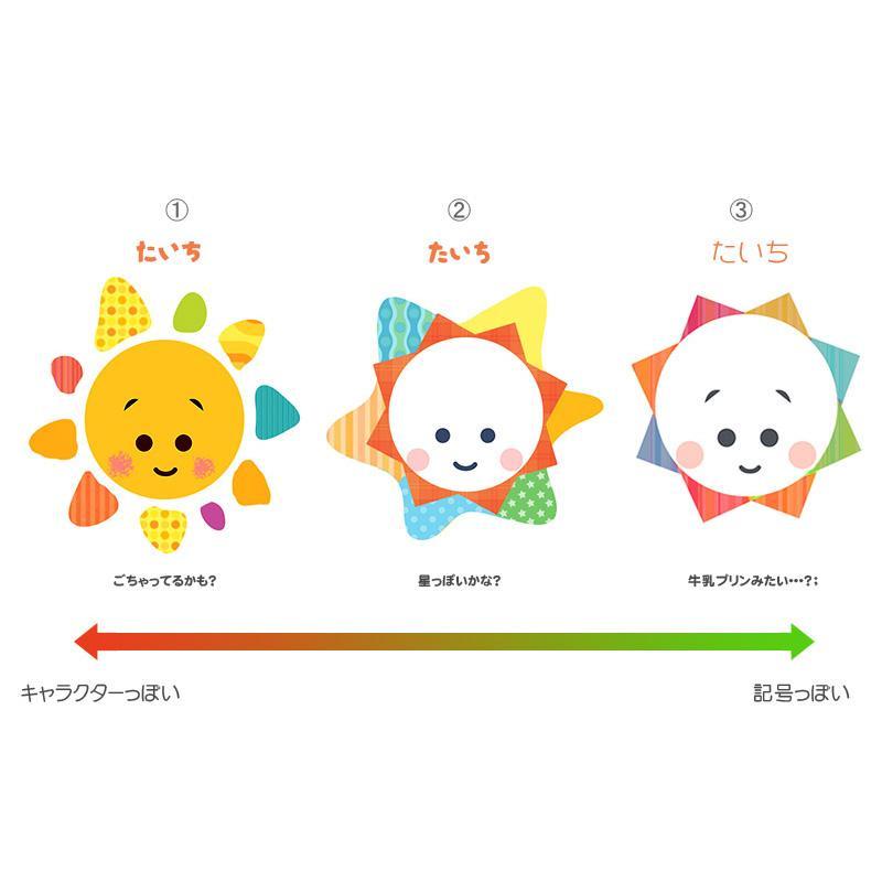 お子さんのロゴマークをデザインします オリジナルマークが目印★子供の幼稚園や保育園のグッズに!