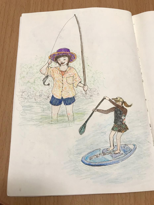 手描きイラスト描きます 手描きの温かみと色彩の豊かさで楽しい絵を提供します。