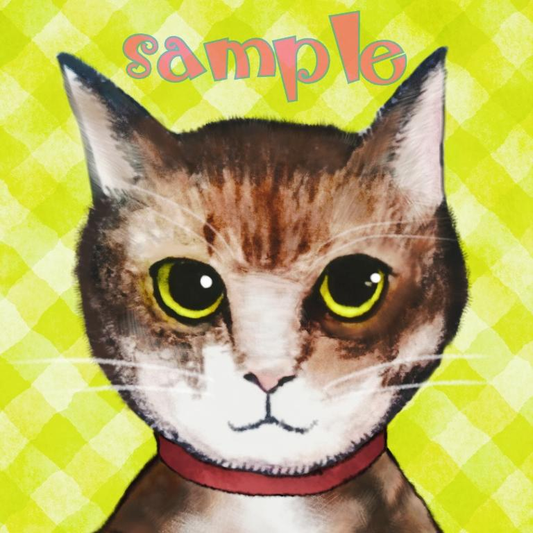 あなたの愛するペットのアイコン描きます 犬、猫、鳥、爬虫類、昆虫など、どんな生き物も承ります。