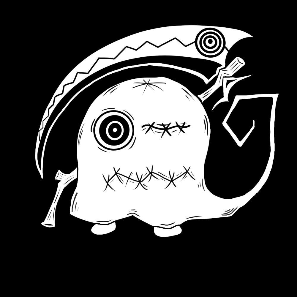 アイコン描きます 少し怖可愛いキャラクター作ります