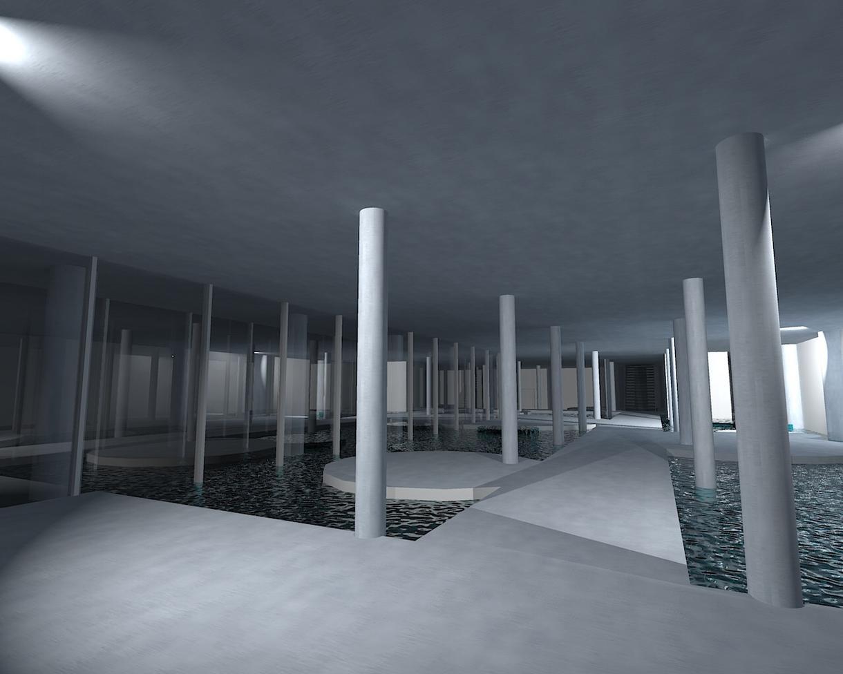建築パースでお困りの方へ、カキーシャで水の描き方等を教えます。