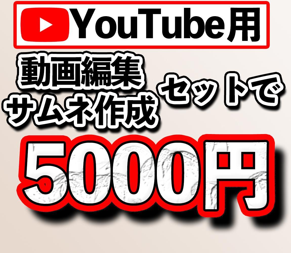 Youtube用の動画編集・サムネ作成をいたします 見やすく、わかりやすく編集いたします!気軽にご相談ください! イメージ1