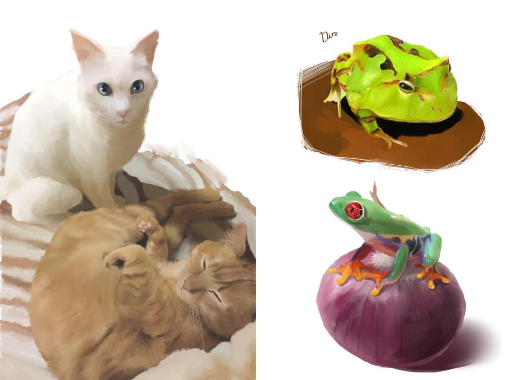 ペット・好きな動物 モンスター描きます!