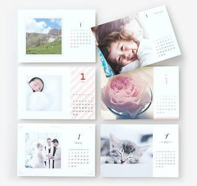 思い出の写真入り卓上カレンダー作成します 世界に一つのカレンダーをプレゼントしませんか?