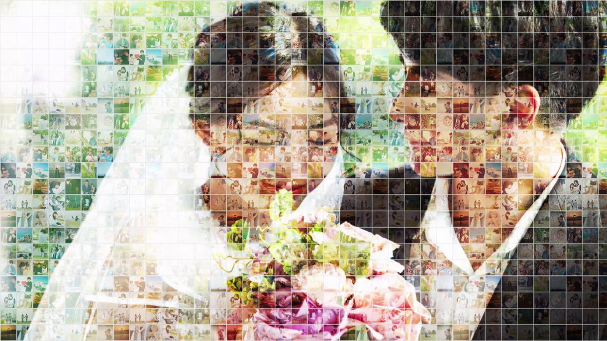 圧倒的な映像美☆結婚式ムービーを制作します たくさんの写真を使いたい!感動のオープニングムービー!