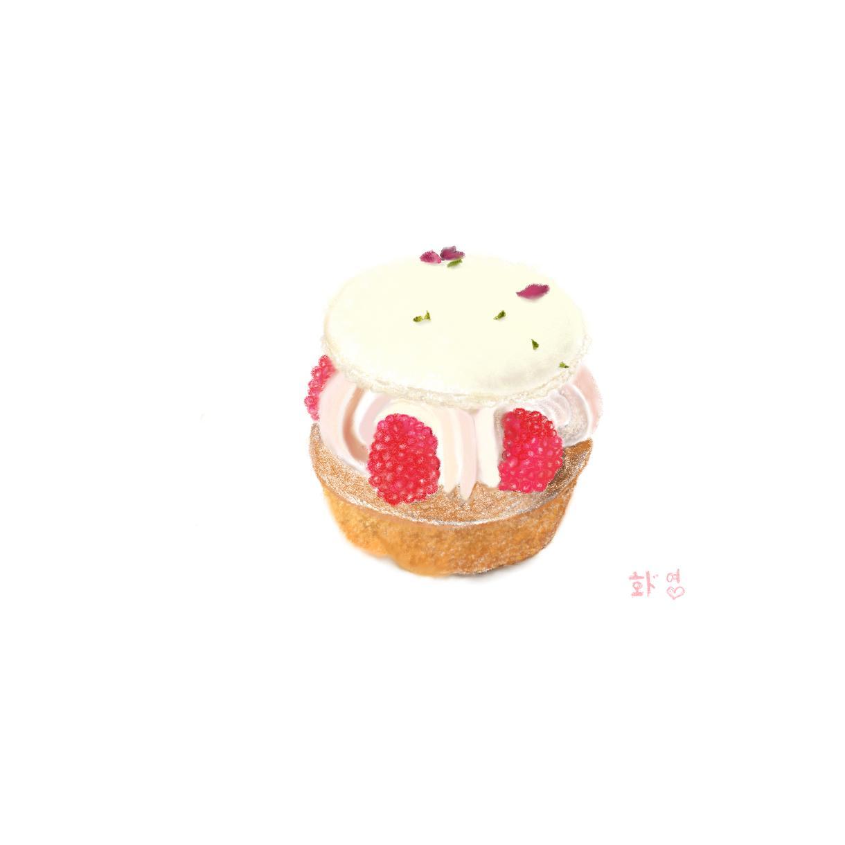 おいしそうでおしゃれなお菓子の絵描きます メニュー表やショップカードに、おいしそうなお菓子の絵 イメージ1