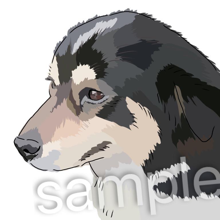ゆる〜いペット絵 描きます ゆるく みなさんの愛猫、愛犬を書いていきます。