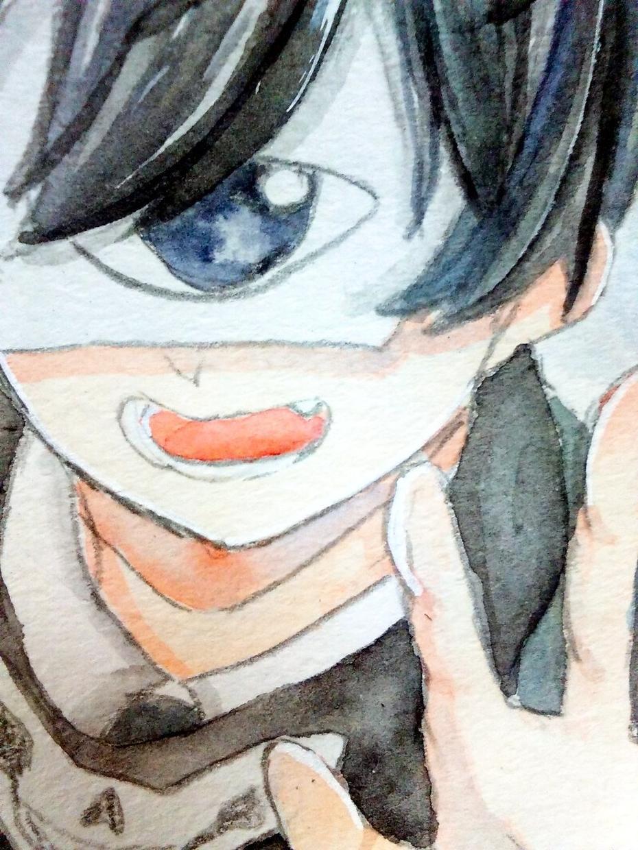 水彩であなたのイラストを描きます アイコンや1枚絵、様々な用途に!