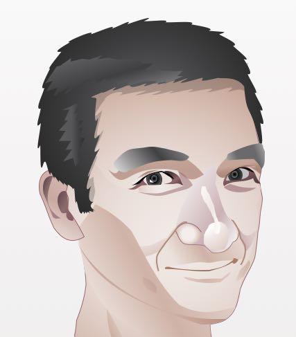 お写真から似顔絵をお描きします SMSなどで使える似顔絵をお描きします。