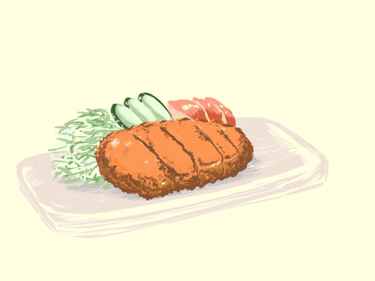 おいしそうに描きます オシャレで美味しそうな挿絵描きます!