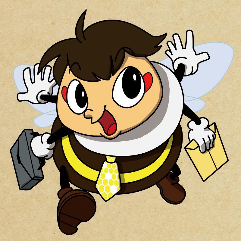 オリジナルキャラクターを作成します SNSやチラシに!可愛いオリジナルキャラクター!(商用可)