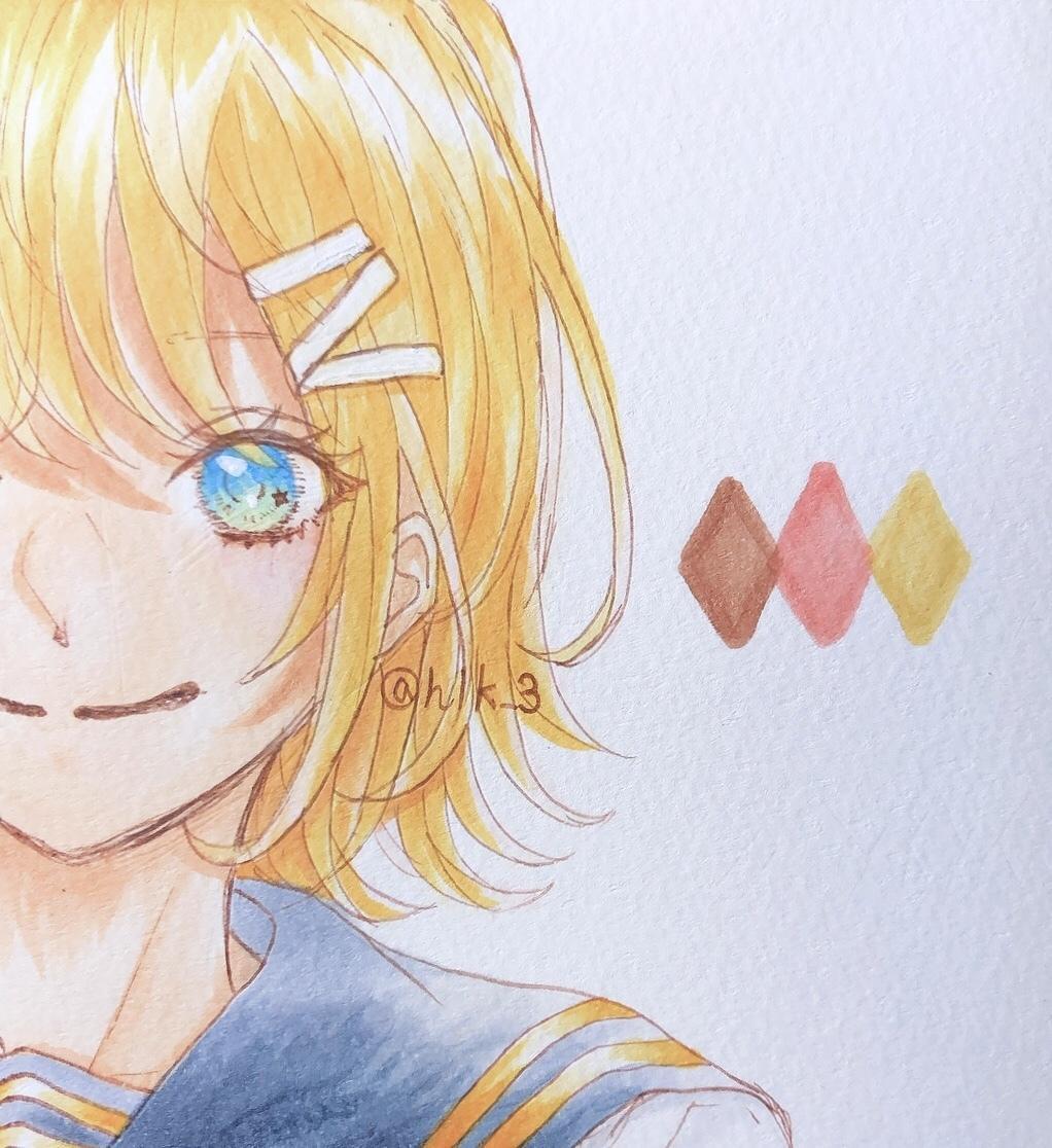 SNSアイコンお描き致します 女の子や、色鮮やかなイラストが得意です! イメージ1