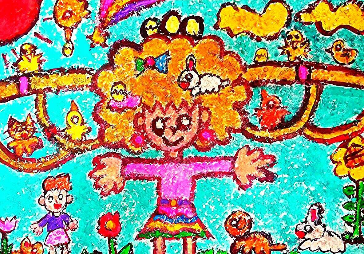 オリジナルキャラクター『のんちゃん』の色んなバージョンを描きます!☆