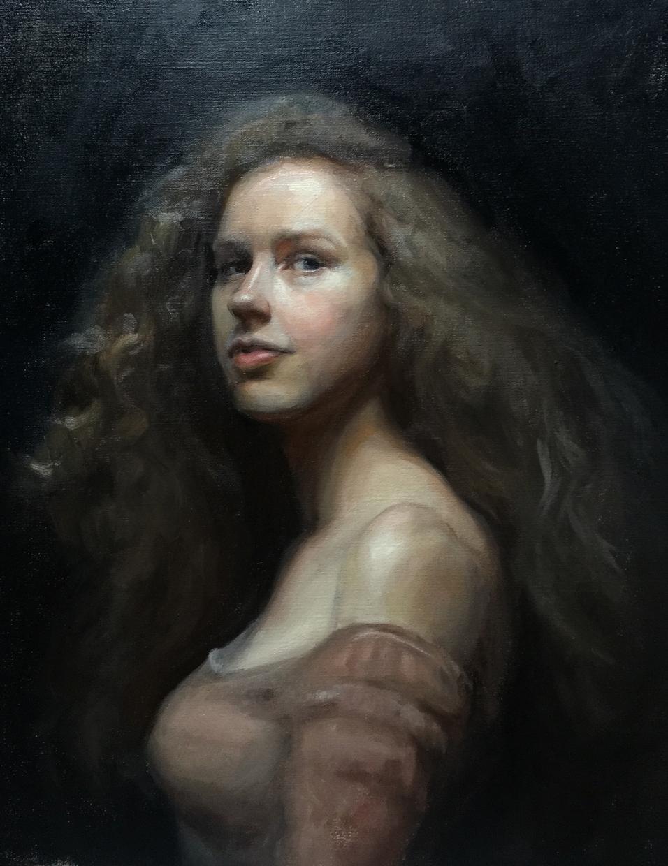 プロが油絵で描きます 大きなキャンパスにあなたの肖像画を油絵で描きます! イメージ1