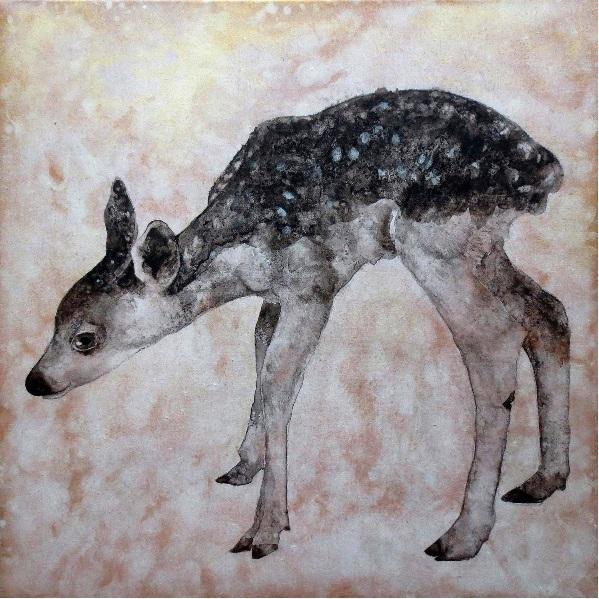 水墨画でお好きな動物や、ペットの似顔絵を描きます 本格的な水墨画です。自然体の動植物の生命を描くのが得意です。