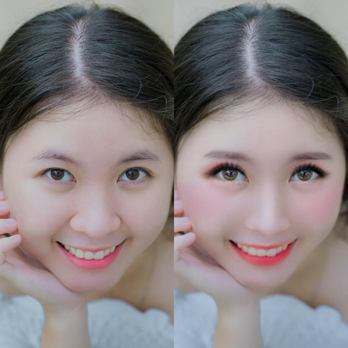 画像の加工(アイコン詐欺写など)を承ります お写真のお顔などを可愛く 素敵に 加工してお作りします ○*