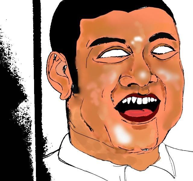 あなたのお写真をもとに白目で似顔絵描きます 普通の似顔絵では物足りない!そんな方にオススメ!
