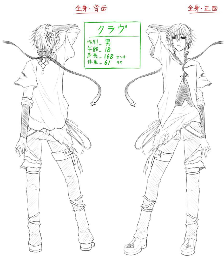 キャラクターデザイン致します 【ゲーム・漫画・小説】ファンタジー・学園のデザインしたい方