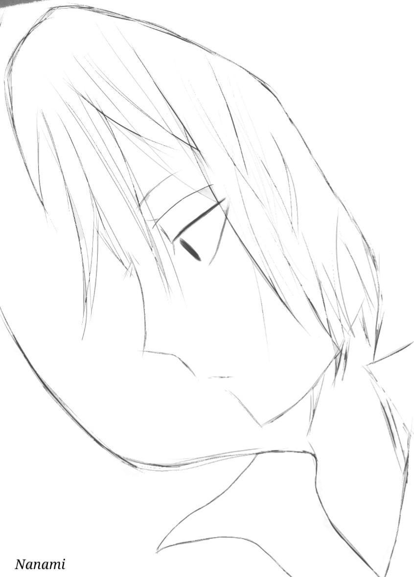アイコン描きます シンプルな白黒の顔だけのイラスト描きます。 イメージ1