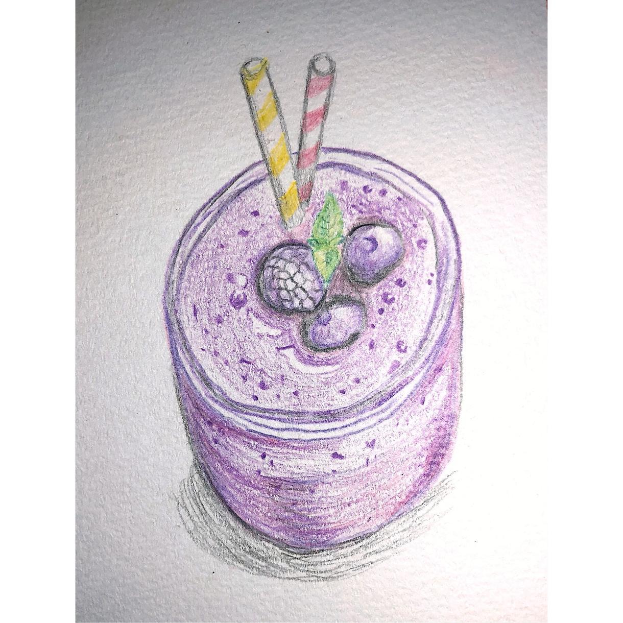 メニュー作成などに!写真を元に絵を描きます 飲食店でのメニューに載せる料理の絵や、インテリアアートなど