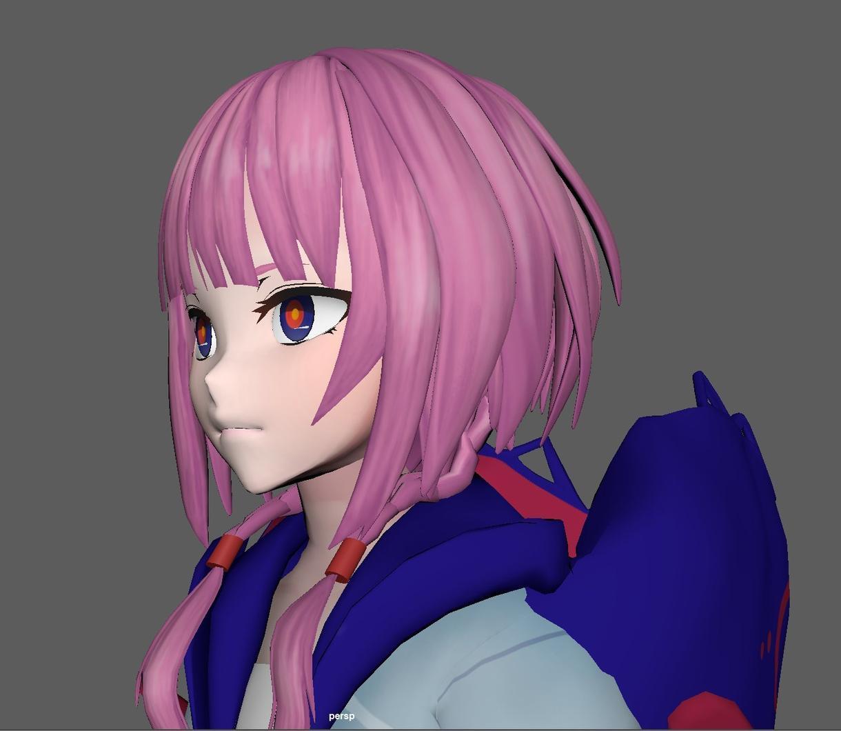 3Dモデル キャラクター 小物 作ります 小物、オリジナル・版権キャラクターのモデリング、リギングなど イメージ1