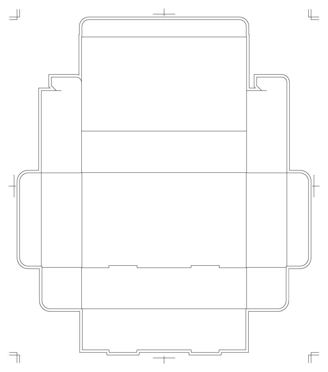 箱デザイン用の展開図aiデータ作成致します パッケージ設計のプロが展開図を作成します! イメージ1