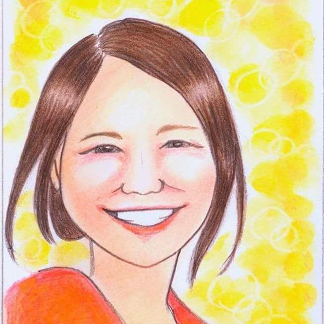 プロフィールや名刺に!手描き似顔絵をお描きします 暖かみのある似顔絵をご希望の方へ