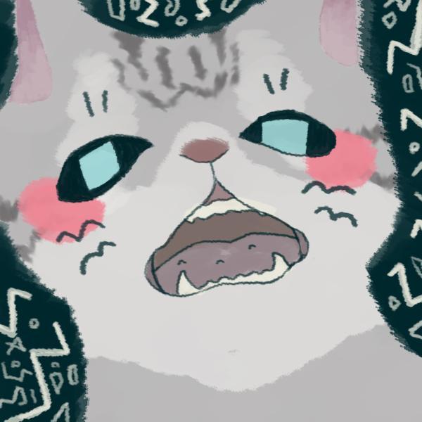 あなたの猫をキャラクターにします!